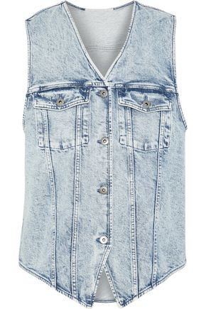 STELLA McCARTNEY Harley 80s Wash denim vest