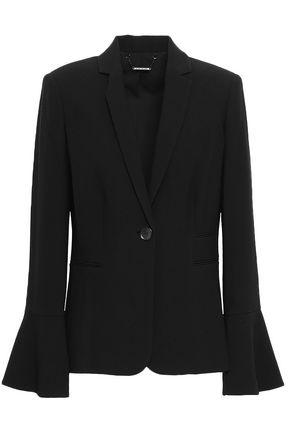 ELIE TAHARI Fluted crepe blazer
