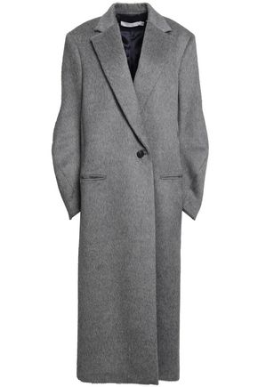 VICTORIA BECKHAM Brushed alpaca and wool-blend felt coat
