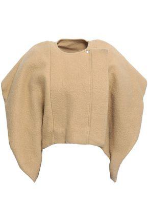 RICK OWENS Wool-felt coat