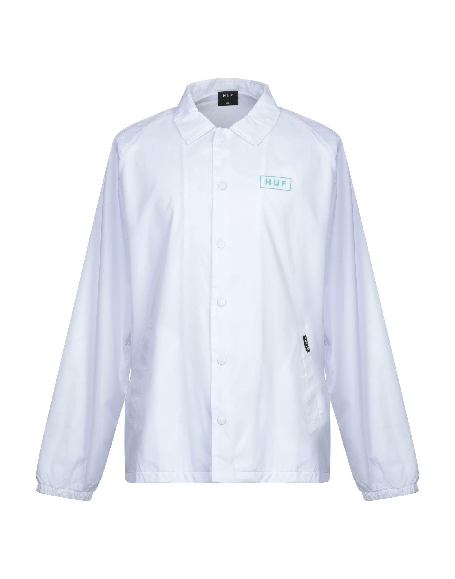 HUF Куртка huf bullpen jersey white xl
