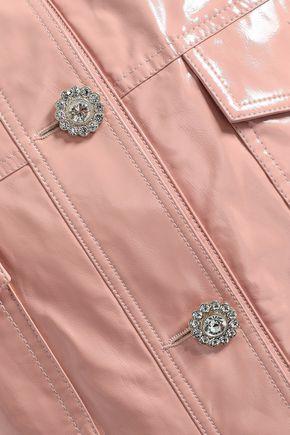 SHRIMPS クリスタル付き ビニール ジャケット
