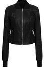 RICK OWENS Leather bomber jacket