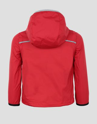 Scuderia Ferrari Online Store - Scuderia Ferrari little boy's and girl's rain jacket - Raincoats