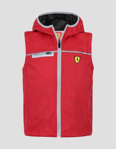 Scuderia Ferrari Online Store - Veste de pluie fille et garçon Scuderia Ferrari - Imperméables