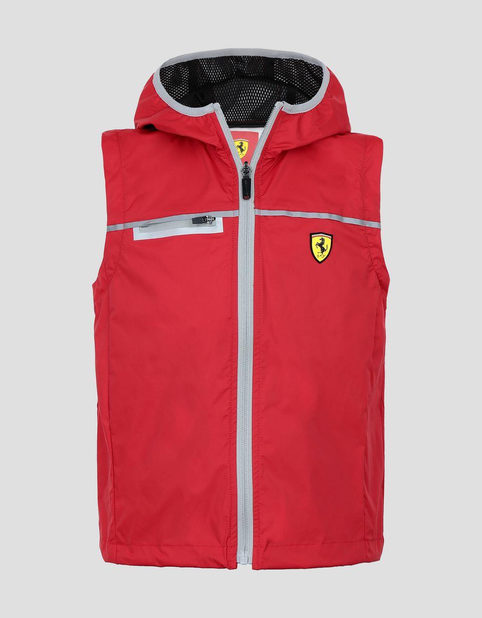 Scuderia Ferrari Online Store - Unisex junior Scuderia Ferrari rain jacket - Raincoats