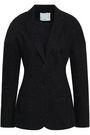 TIBI Marled cotton-blend jacket