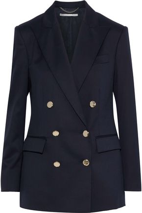 STELLA McCARTNEY June double-breasted wool blazer