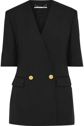 STELLA McCARTNEY Wool and mohair-blend twill blazer