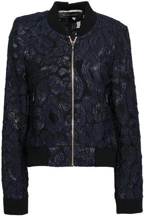 ROLAND MOURET Fil coupé organza jacket