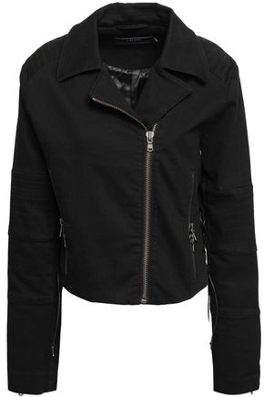 J BRAND Lace-up denim jacket