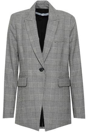 REBECCA MINKOFF Celia Prince of Wales woven blazer