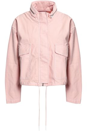 CURRENT/ELLIOTT Cropped cotton-blend jacket