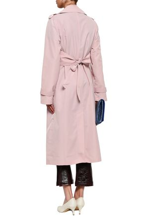 W118 by WALTER BAKER Double-breasted twill trench coat