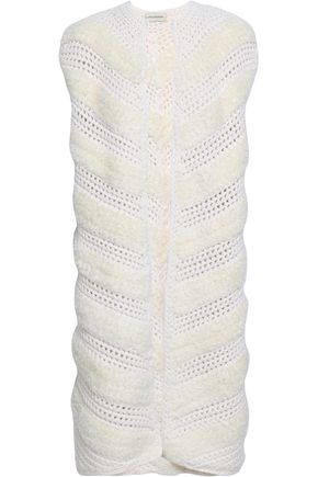 BY MALENE BIRGER Jacquard-knit wool-blend gilet