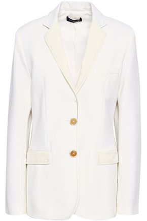 PIAZZA SEMPIONE Oversized cotton-blend blazer