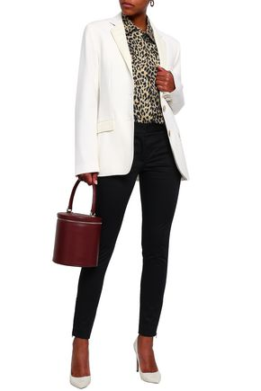 PIAZZA SEMPIONE Oversized cotton-blend blazer