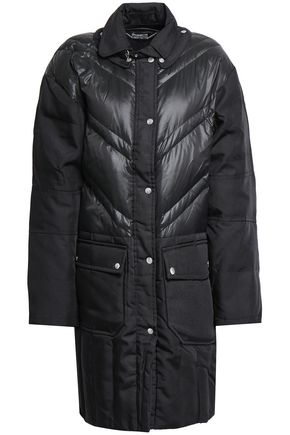 BY MALENE BIRGER Dorav quilted shell-paneled canvas down coat