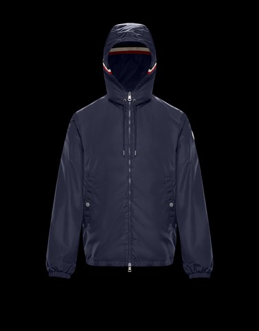 GRIMPEURS Dark blue Category Windbreakers Man