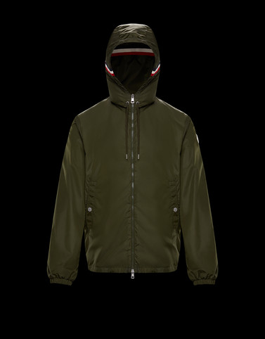 GRIMPEURS Dark green Category Windbreakers Man