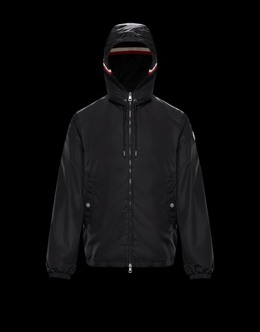 GRIMPEURS Black Category Windbreakers Man