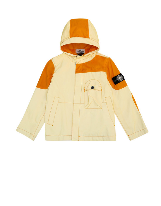 STONE ISLAND KIDS Jacket 41336 GARMENT DYED PLATED REFLECTIVE
