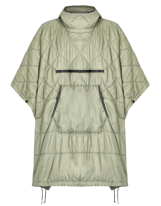 STONE ISLAND 披风 70124 GARMENT DYED QUILTED MICRO YARN