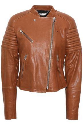 BY MALENE BIRGER Quilted leather biker jacket