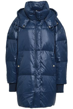 BY MALENE BIRGER Quilted shell hooded down jacket