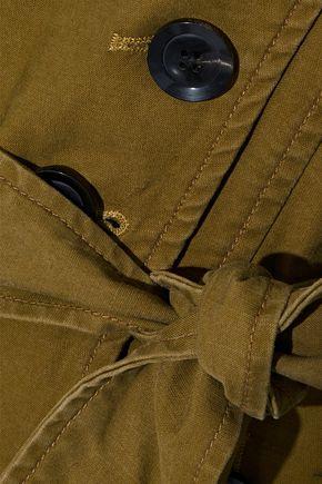 MARISSA WEBB Noah double-breasted washed cotton-blend twill jacket