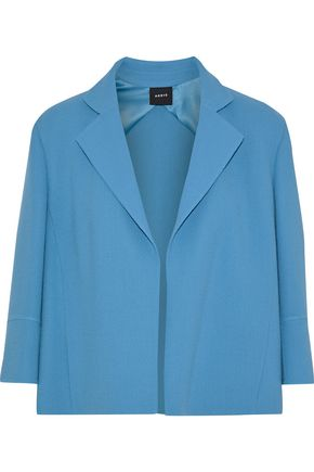AKRIS Wool-crepe jacket