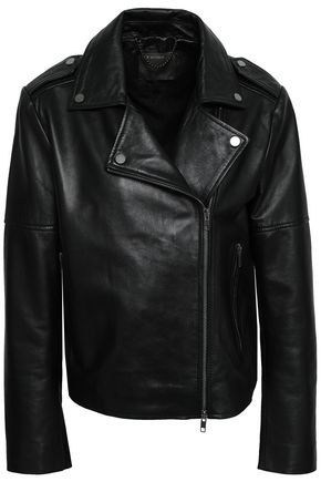 MUUBAA Healey leather biker jacket