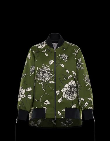 THIMPHOU Military green Jackets & Bomber Jacket