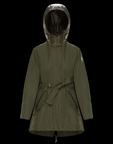 MASCATE Dark green Coats & Trench Coats