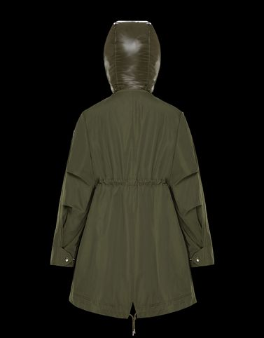 Moncler Coats & Trench Coats Woman: MASCATE