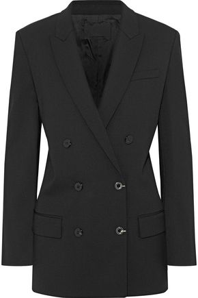 ALEXANDER WANG Double-breasted twill blazer