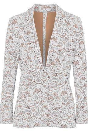 NORMA KAMALI Guipure lace blazer