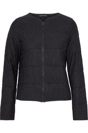 MAJESTIC FILATURES Quilted jersey jacket