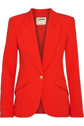 L'AGENCE Chamberlain stretch-crepe blazer