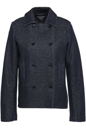 MAJESTIC FILATURES Double-breasted cotton-jersey jacket