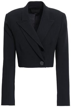 ALEXANDER WANG Cropped cape blazer