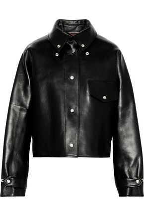 ACNE STUDIOS Chrismo leather jacket