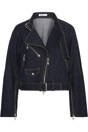 ADEAM Denim biker jacket