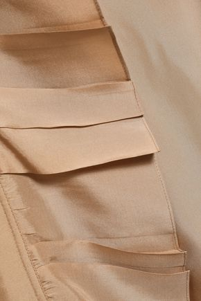 VICTORIA BECKHAM Double-breasted silk trench coat