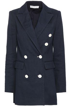 ROBERT RODRIGUEZ Linen and cotton-blend twill blazer
