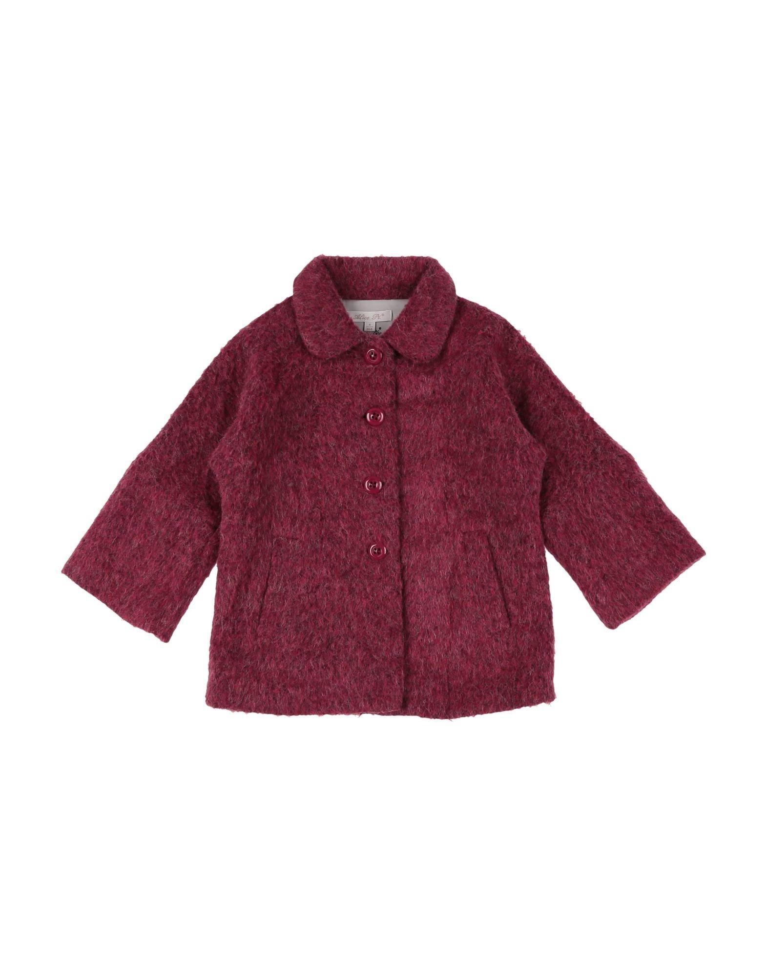 Alice Pi. Kids' Coats In Purple