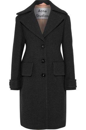 ACNE STUDIOS Cherl T Melton wool-felt coat