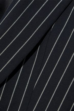 ACNE STUDIOS Jarla pinstriped wool and cotton-blend jacket