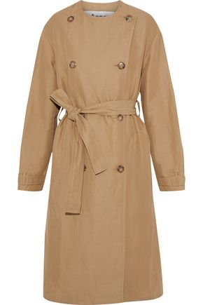 ACNE STUDIOS Angelica cotton and ramie-blend trench coat