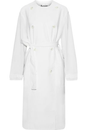 ACNE STUDIOS Angelica brushed-twill trench coat